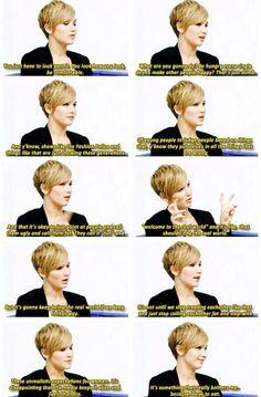Jennifer Lawrence, everyone