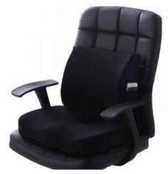 New Fashion Seat Cushion And Waist Cushion Set Short Plush Memory Foam Chair Lower Back Cushion And Lumbar Pillow Bleacher Seating, Orthopedic Pillow, Seat Cushions, Pillows, Soft Chair, Best Pillow, Lumbar Pillow, Home Textile, Memory Foam