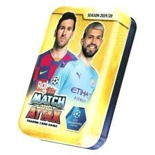 2019 2020 Uefa Champions League Soccer Match Attax Mini Tin 45 Cards Preorder In 2020 Champions League