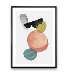 Watercolor abstract, minimalist print, Abstract poster, scandinavian design, modern print, wall art, geometric print, colorful print, Dimensions available: 5 x 7 8 x 10 11 x 14 A4 210 x 297 mm (8.3 x 11.7) A3 297 x 420 mm (11.7 x 16.5) - Please choose from drop down menu above! If you are interested into any size that is not available, please contact us. INFO: Prints are printed on 240gsm Archival Matt photo paper Shipped in a sturdy mailing tube with sealed caps Fr...