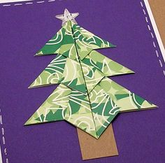 (Origami Tree Party) Origami Cards