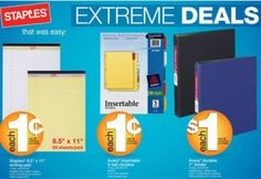 Staples Back To School Sale July 15, 2012 http://www.frugallivingandhavingfun.com/2012/07/staples-back-to-school-sale-july-15-2012/ #BackToSchool