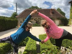 me n my buddy, love you Jo Blenkinsopp! www.goyogaretreats.co.uk