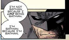 In case you missed it: Batman is Batman because he's Batman. ~Oracle #Batman #dccomics #superman #manofsteel #dcuniverse #dc #marvel #superhero #greenarrow #arrow #justiceleague #deadpool #spiderman #theavengers #darkknight #joker #arkham #gotham #guardiansofthegalaxy #xmen #fantasticfour #wonderwoman #catwoman #suicidesquad #ironman #comics #hulk #captainamerica #antman #harleyquinn