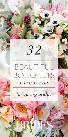 32 Beautiful Bouquets With Tulips | Brides.com