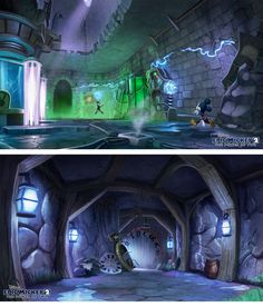 Epic Mickey concept art