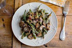 Green bean casserole recipe (Photo: Andrew Scrivani for The New York Times)