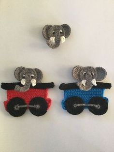 Have a look at my new Elephant crochet pattern.