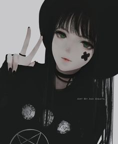 Anime girl by aoi ogata Fille Anime Cool, Art Anime Fille, Cool Anime Girl, Beautiful Anime Girl, Anime Art Girl, Anime Love, Anime Girls, Kawaii Anime Girl, Manga Kawaii