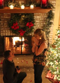 Christmas Proposal. This is done often but I have a certain way I would like it done. And no im not saying it...:)