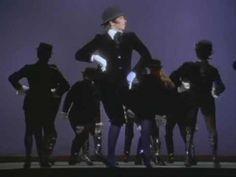 BOB FOSSE: Bye Bye Blackbird de  Liza with a Z, concierto para TV dirigido y coreografiado por Fosse
