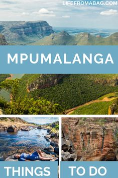 Mpumalanga In South Africa is home to the world famous Kruger National Park Blyde River Canyon Nature Reserve Three Rondavels Viewpoint and Wild Fig Tree. With many things to do in Mpumalanga is one of best places to visit in South Africa Africa Destinations, Travel Destinations, Kruger National Park, National Parks, Travel Guides, Travel Tips, Solo Travel, Adventure Activities, Fig Tree