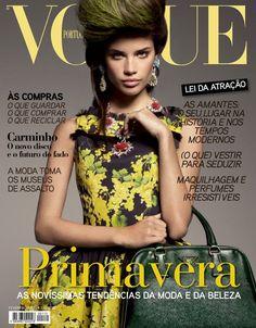 Vogue Portugal Cover February 2012 - Sara Sampaio by Luis Monteiro Vogue Covers, Vogue Magazine Covers, Fashion Magazine Cover, Vogue Portugal, Good Treadmills, Sara Sampaio, Cover Model, Cover Pics, Model Photos