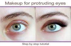 eye shape makeup 402438916695861052 - Makeup for protruding eyes Source by antoinettetdb Eye Shape Makeup, Hazel Eye Makeup, Natural Eye Makeup, Eye Makeup Tips, Beauty Makeup, Makeup Ideas, Beauty Tips, Makeup Tutorials, Makeup Trends