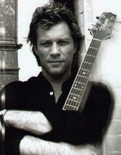 This man, right here, is 50. It's no wonder I have a thing for older men.   Jon Bon Jovi