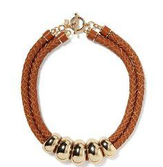 Banana Republic Leather Necklace
