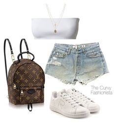 A fashion look from February 2018 featuring adidas sneakers и ASOS necklaces. Browse and shop related looks. Cute Swag Outfits, Cute Comfy Outfits, Simple Outfits, Stylish Outfits, Summer Outfits, Kpop Fashion Outfits, Mode Outfits, Girl Outfits, Womens Fashion