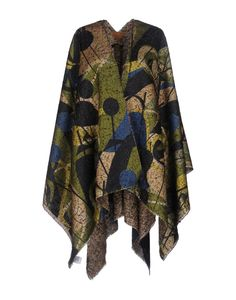 Agnese Gallamini Women Cape on YOOX. The best online selection of Cloaks Agnese Gallamini. Women's Capes & Ponchos, Lace Dress Styles, Capes For Women, Cape Coat, Simple Outfits, Dress Codes, Kimono Top, Fashion Dresses, Street Style