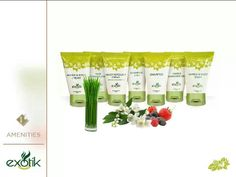 Una nueva opción de Amenities en el mercado con aromas innovadores.  New opcion in the market of Amenities with innovated aromas.