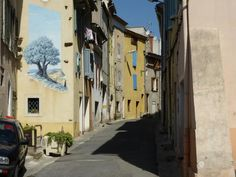 I was prevailed upon to visit my niece and her family. her husbands job has taken him to a small coastal town near Toulon. I was apprehensive about the journey but very pleasantly surprised by the