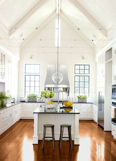 Kitchen Ideas No Wall Cabinets friday favorites - french farmhouse kitchens | beautiful