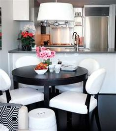 Black & White dining set