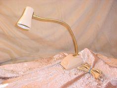 Vintage Imar Flex Gooseneck Desk Lamp w Metal Shade 16 inch Japan Modern 1960s Seller florasgarden on ebay