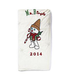 Dillards Trimmings 2014 Mr Bingle Throw #Dillards