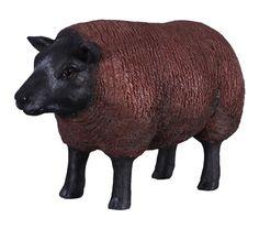 Fibreglass Sheep Statue Texelaar Ewa Small :  Dimensions : Length : 48cm, Width : 22cm, Height : 31cm, Weight : 2.8kg