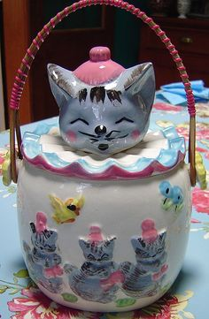 1950's cookie jar....Cute