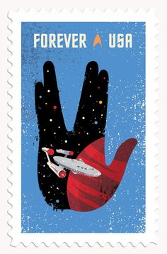 Star Trek stamps: These postage stamps will go on sale soon for the show's 50th anniversary - Digital Arts