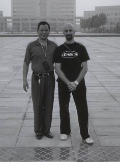 M. Lu Jianmin e M. Bizzi Luca (16° e 17° generazione Meihuaquan)