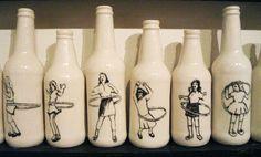Slip Cast Ceramics Hand-Painted by Shalene Valenzuela