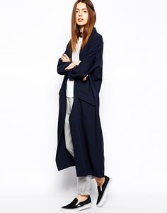$55 Image 4 of ASOS PETITE Duster Coat