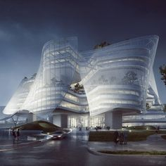 """MAD designs """"building with skin and bones"""" for Chinese fashion brand"""