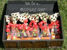 Even though this treasure chest filled with candy is a fun find for most kids, the real treasure is in the hunt!From picture clues to word scrambles and anagrams,. Pirate Scavenger Hunts, Scavenger Hunt Riddles, Treasure Hunt Birthday, Treasure Hunt Games, Pirate Treasure Hunt For Kids, Treasure Hunting, 10th Birthday, Birthday Ideas, Pirate Party