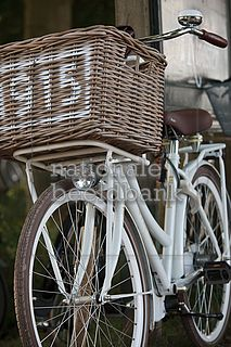 .this bike would be parked outside of my shabby/vintage cottage dream house for rides to the farmer's market and grocery and tea shop.