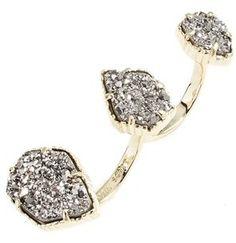 Kendra Scott 'Naomi' Double Finger Ring - $95.00