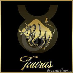 Taurus zodiac star sign by Trishagraphics, via Dreamstime