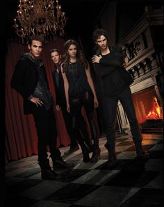 The Vampire Diaries. My favourite characters are Klaus and Jeremy.