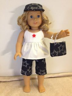 American Girl Doll Clothes 18 inch Doll Clothes by ChantiesCloset, $20.00