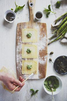 Tortellini asperges - pesto