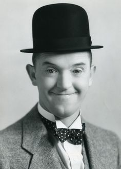 Stan Laurel of Laurel  and  Hardy was born today 6-16 in 1890 - he made over 200 films. He retired to a very simple life in Santa Monica, Calif in the  and passed away in 1965. He has many, many fans to this day.
