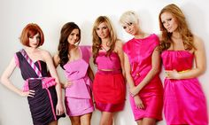 As regular readers will know, we love to stalk watch Nicola, Kimberley, Nadine, Cheryl and Sarah in hopes of a Girls Aloud reunion. Rachel Stevens, Nicola Roberts, Cheryl Cole, Spice Girls, Prom Dresses, Summer Dresses, Formal Dresses, Diana, Nadine Coyle