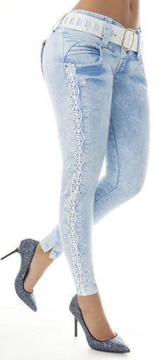 Jeans levanta cola WOW 65904 - Jeans Colombianos