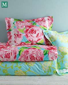 Check out our *NEW* Lilly Pulitzer® Sister Florals Collection at @Garnet Hill!