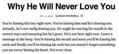 Its true girls... sad but true