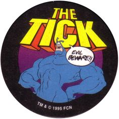 The Tick Cartoon | The Tick The-Tick-Evil-Beware.