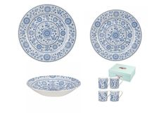 Churchill The Caravan Trail Penzance 16 Piece Dinner Set