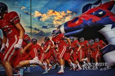 Took this one at the McKinney Boyd football game this fall.  #44 is my son!